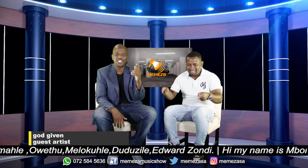 's interview on Thursday 28th February 2019 on Memeza on 1KZN TV, DSTV channel 261 from 430pm - 530pm!